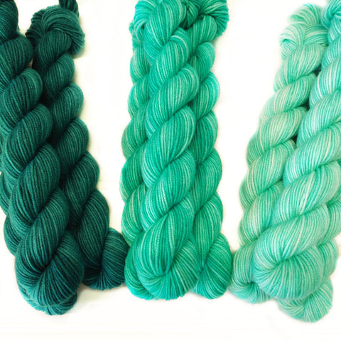Single Mini Skein - Teal - Turquoise