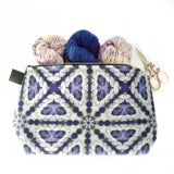 Zipper Project Bag - Crystal Violet
