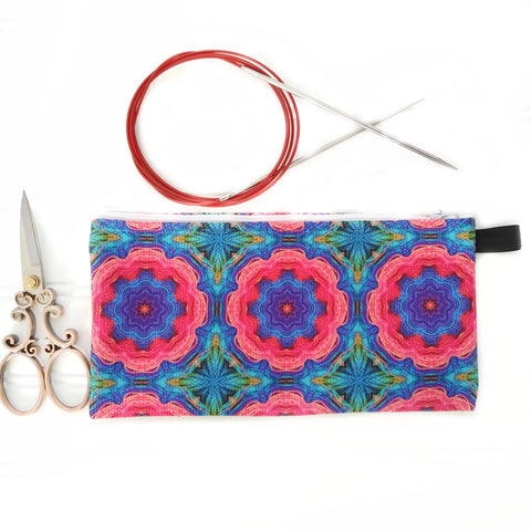 Zipper Notions Pouch Jessie's Garden