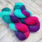 hand dyed yarn Dk weight