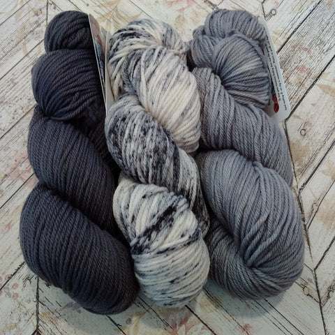 Dusk to Midnight 3 Full Skein Set