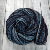 hand dyed yarn semi-solid , sock yarn, dk yarn, worsted yarn