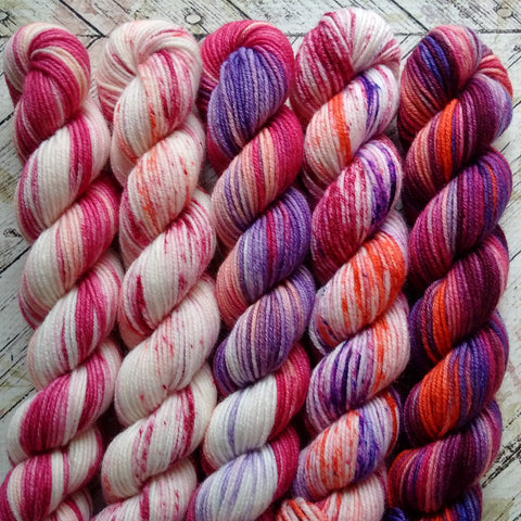 Mums Bouquet Mini Skein Set of 5