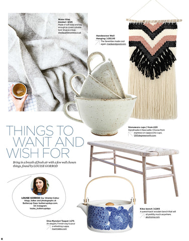 Made+Good Simple Things Magazine Things to wish and want for february 2018