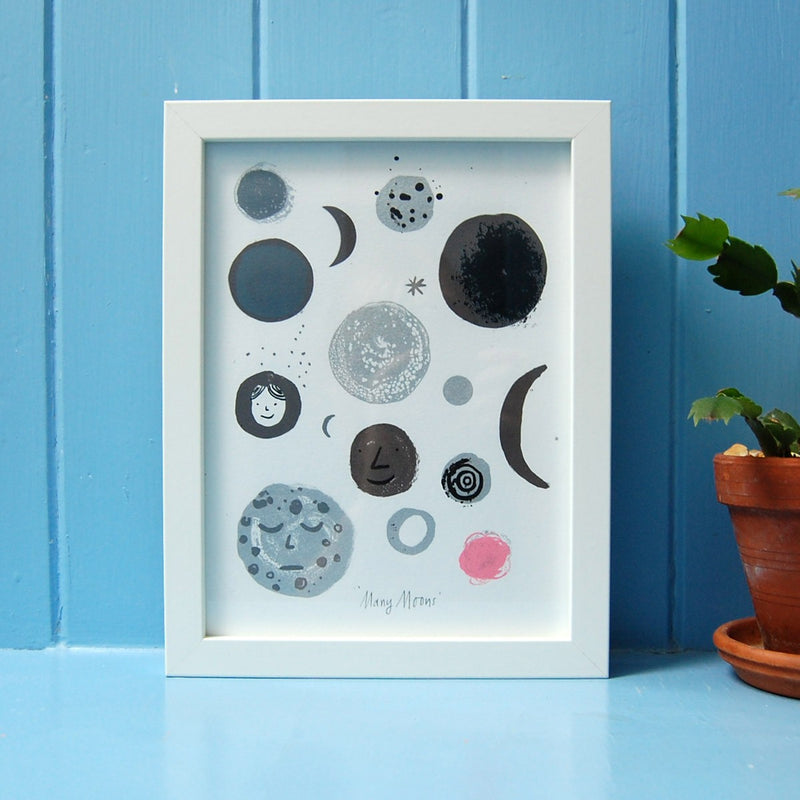 Many Moons – Screen Print