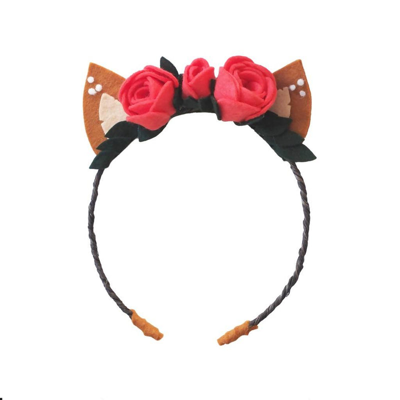 Felt Deer Ears Headband