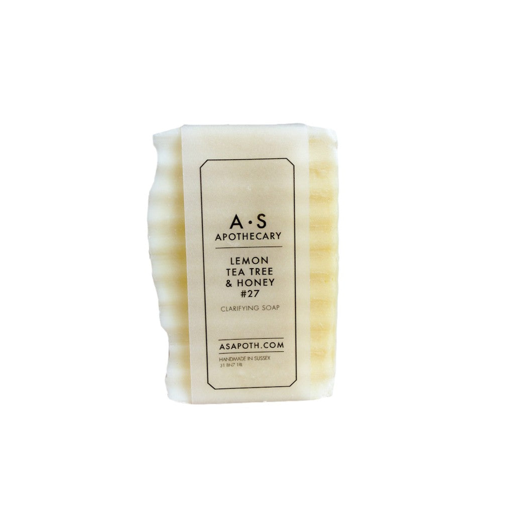 Lemon, Tea Tree & Honey Clarifying Soap