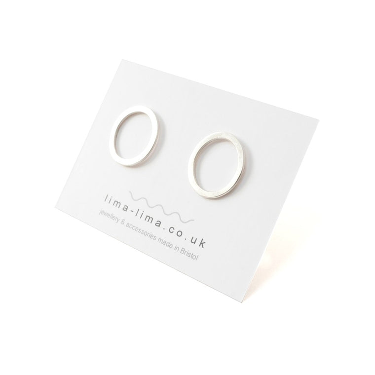 Eco Sterling Silver Vivienne Studs