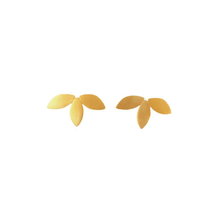 Flora Studs – 18ct Gold Plate or Silver