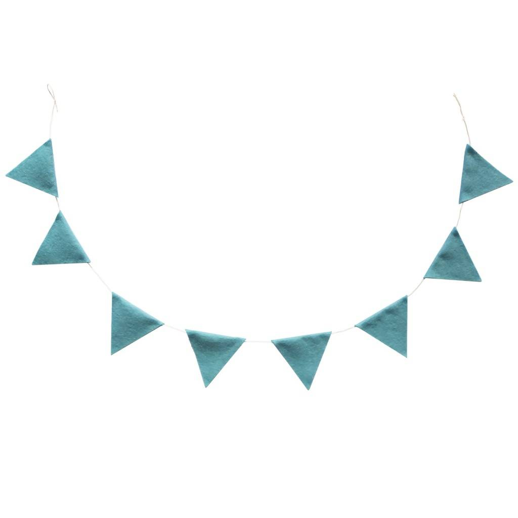Mini Felt Bunting – choice of colours