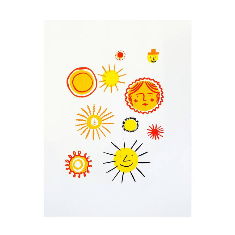 Some Suns – Screen Print