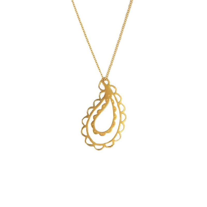 Jasmine Necklace – 18ct Gold Plate or Silver