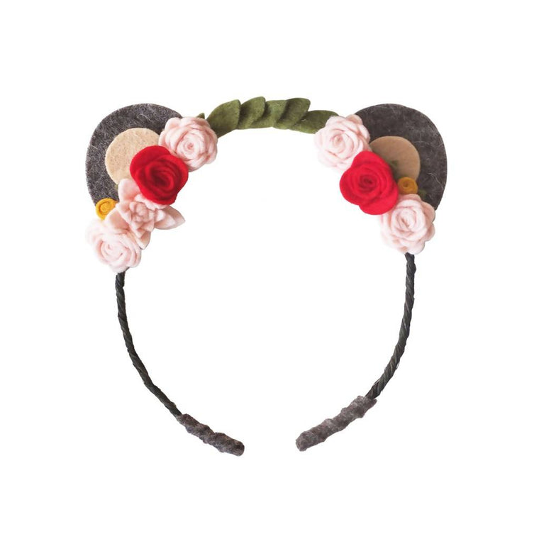 Felt Bear Ears Headband
