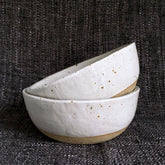Toasty speckled Bowl - choice of sizes