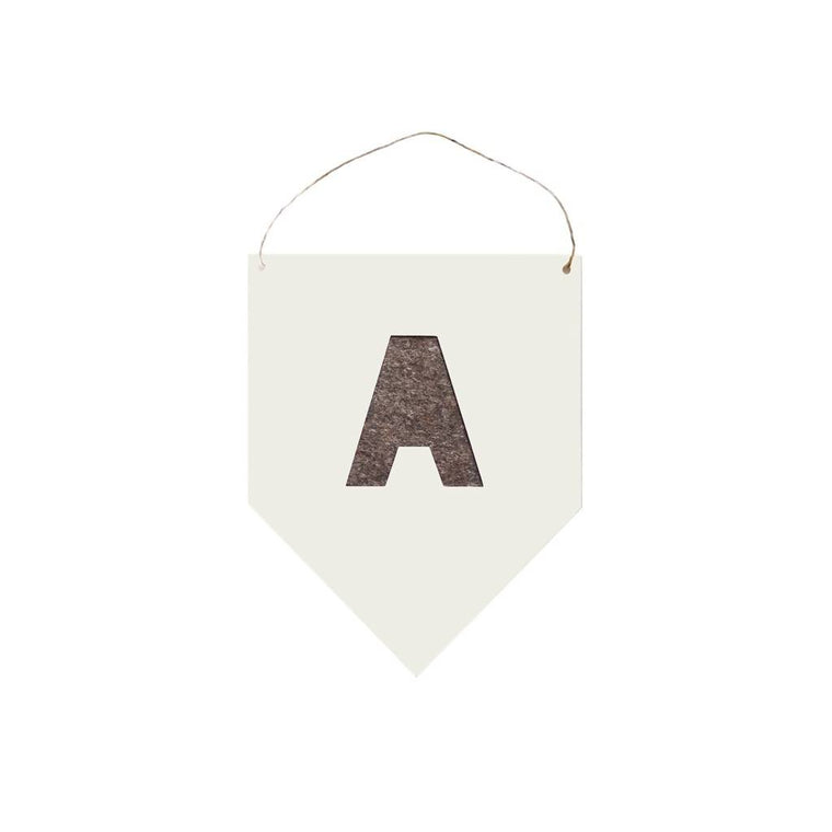 Letter Banner – choice of colours
