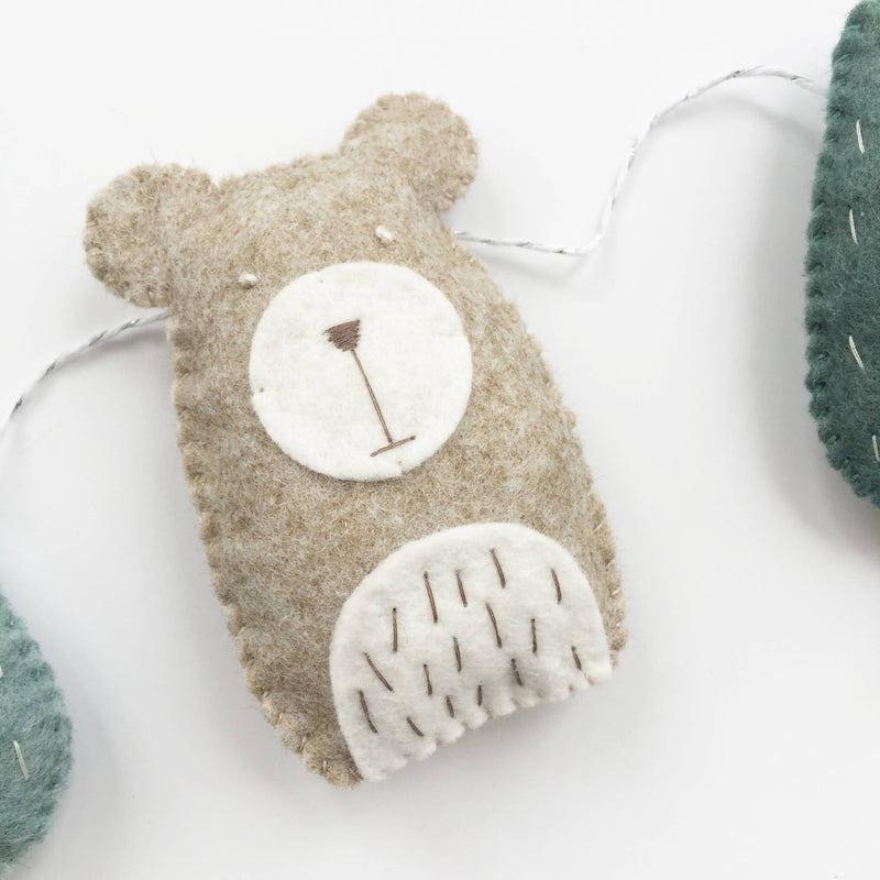 Bears in the Wood Garland