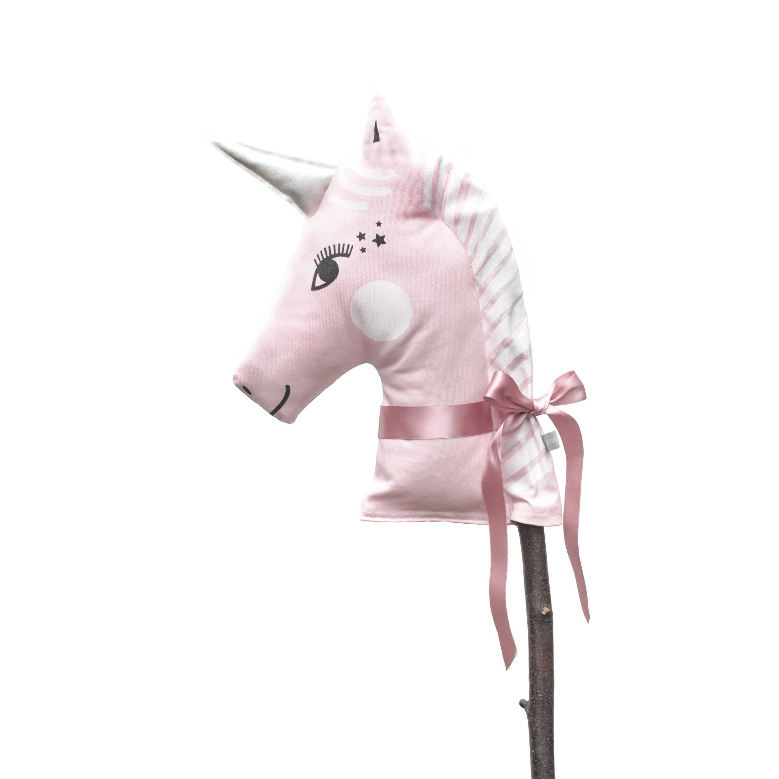 Unicorn Hobby Horse – choice of colours