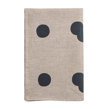 Soni big spot tea-towel