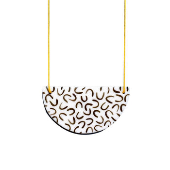 Curve Ceramic Necklace