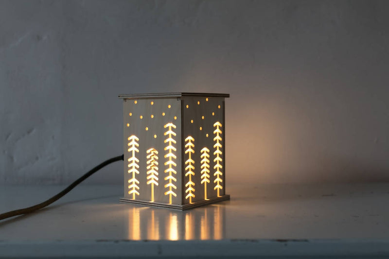 Wooden Woodland Light