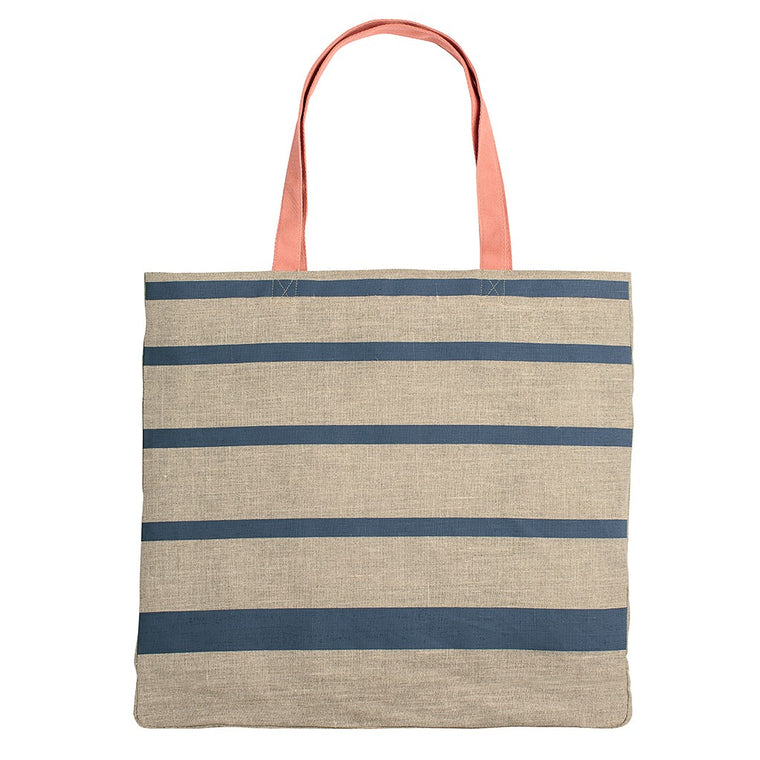 Holloway striped large tote bag