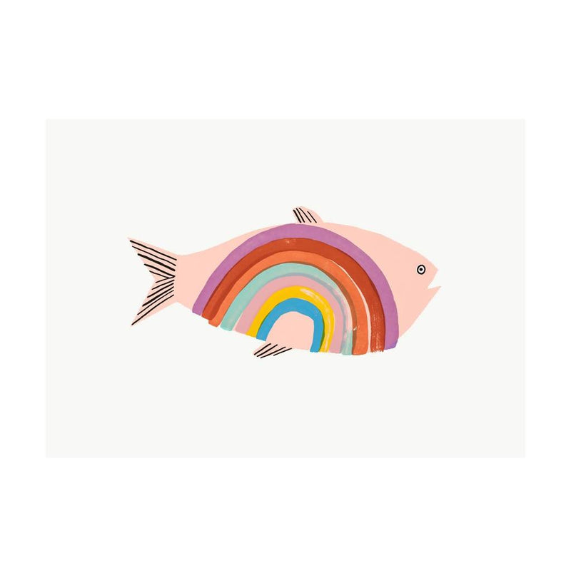 Rainbow Trout – Screen Print