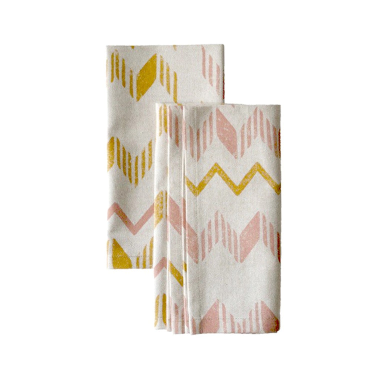 ZigZag Pair of Napkins