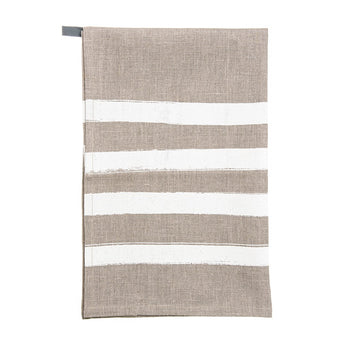 Pondicherry tea-towel - Isla white