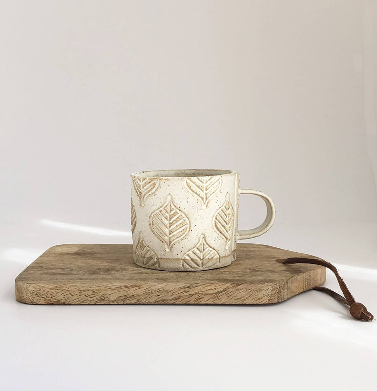 Vanilla Stoneware mug - choice of design