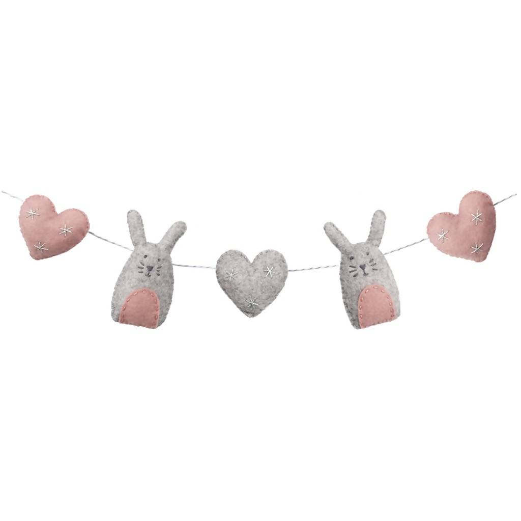 Some Bunny Loves You Garland