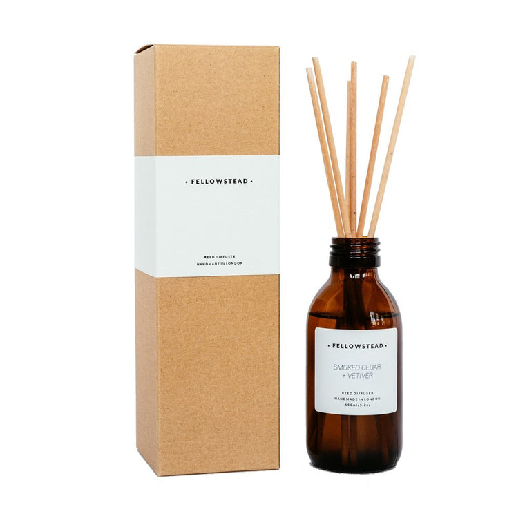 Smoked Cedar + Vetiver Reed Diffuser
