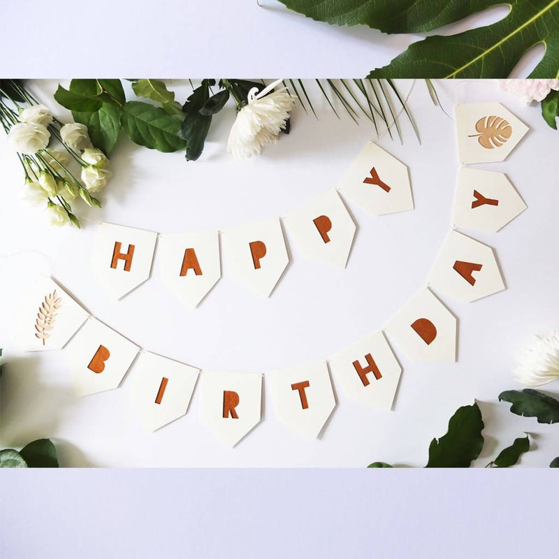 Felt Word Garland – customisable word + colours