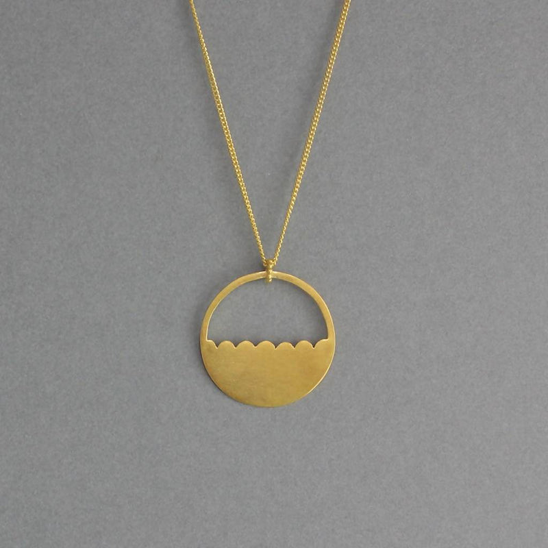 Lois Necklace – 18ct Gold Plate or SIlver