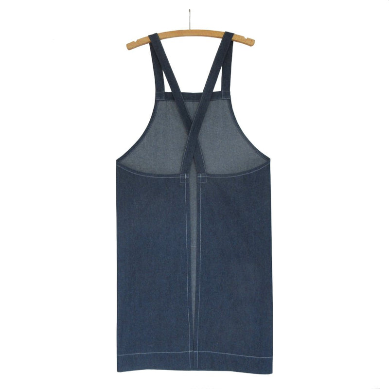 Blue Denim Crossback Apron No 4:2