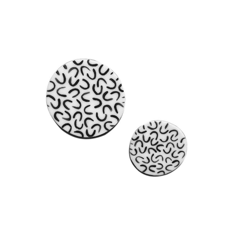 Curve Ceramic Pin (2 sizes)