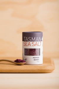 Tasman Sea Salt with Pepper Berry - 80g