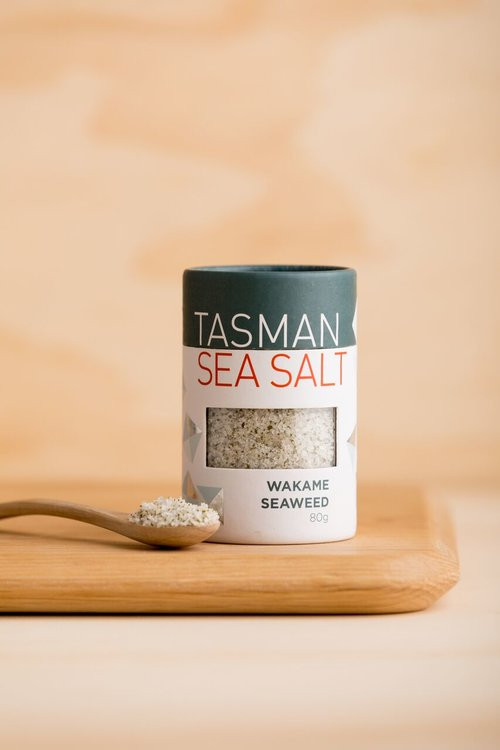 Tasman Sea Salt with Wakame Seaweed - 80g