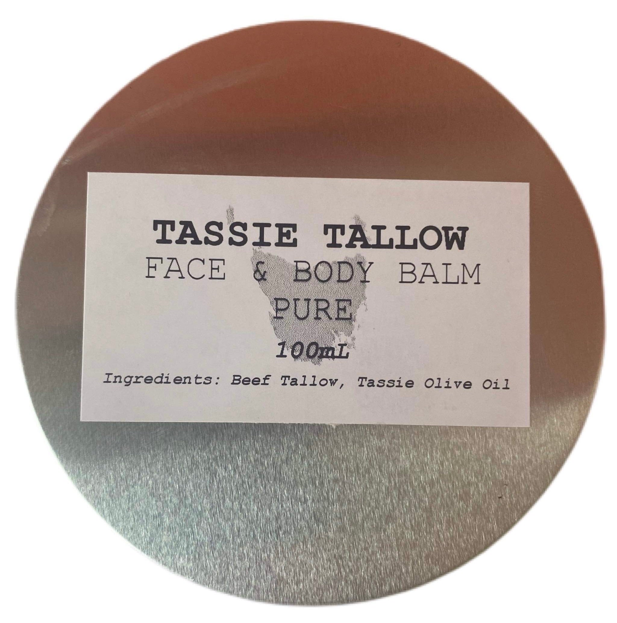 Tallow Face & Body Balm | PURE | 100mL