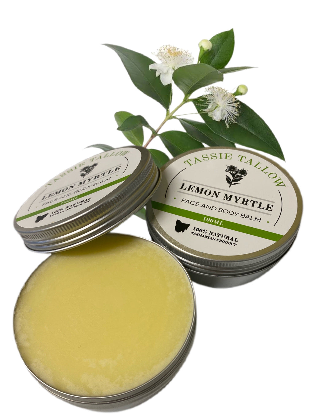 Tallow Face & Body Balm | Lemon Myrtle | 100mL