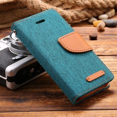 KISSCASE Stand Wallet Flip Cases For iPhone 6 6S 7 5 5S Fashion Hit Color Card Slot Leather Cover For iPhone 7 6s Plus 5S 5 SE