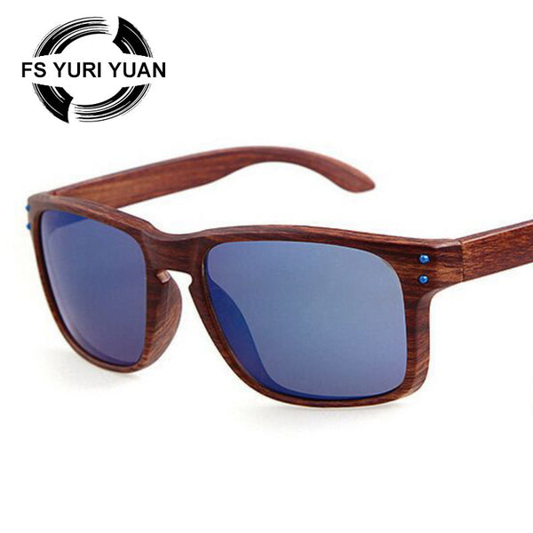 2016 Retro Bamboo Wood Sunglasses Men Women Brand Designer Goggles Gold Mirror Sun Glasses Shades lunette oculo