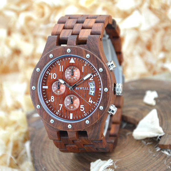 BEWELL Wood Watch mens watches top brand luxury role luxury watch men montres homme grande marque de luxe horloges mannen 109D