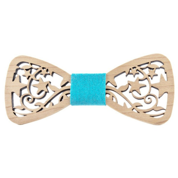 New Style Fashionable Hollow Wood Bow Ties for Men Wedding Suits Wooden Bow Tie Butterfly Shape Bowknots Gravatas Slim Cravat Ne