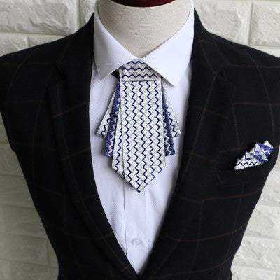 New Free Shipping fashion male MEN'S man Korean business dress collar British groom Groomsmen wedding bow tie Pocket Square set