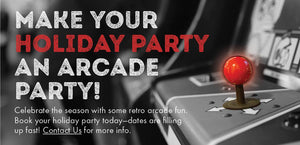Make Your Holiday Party an Arcade Party
