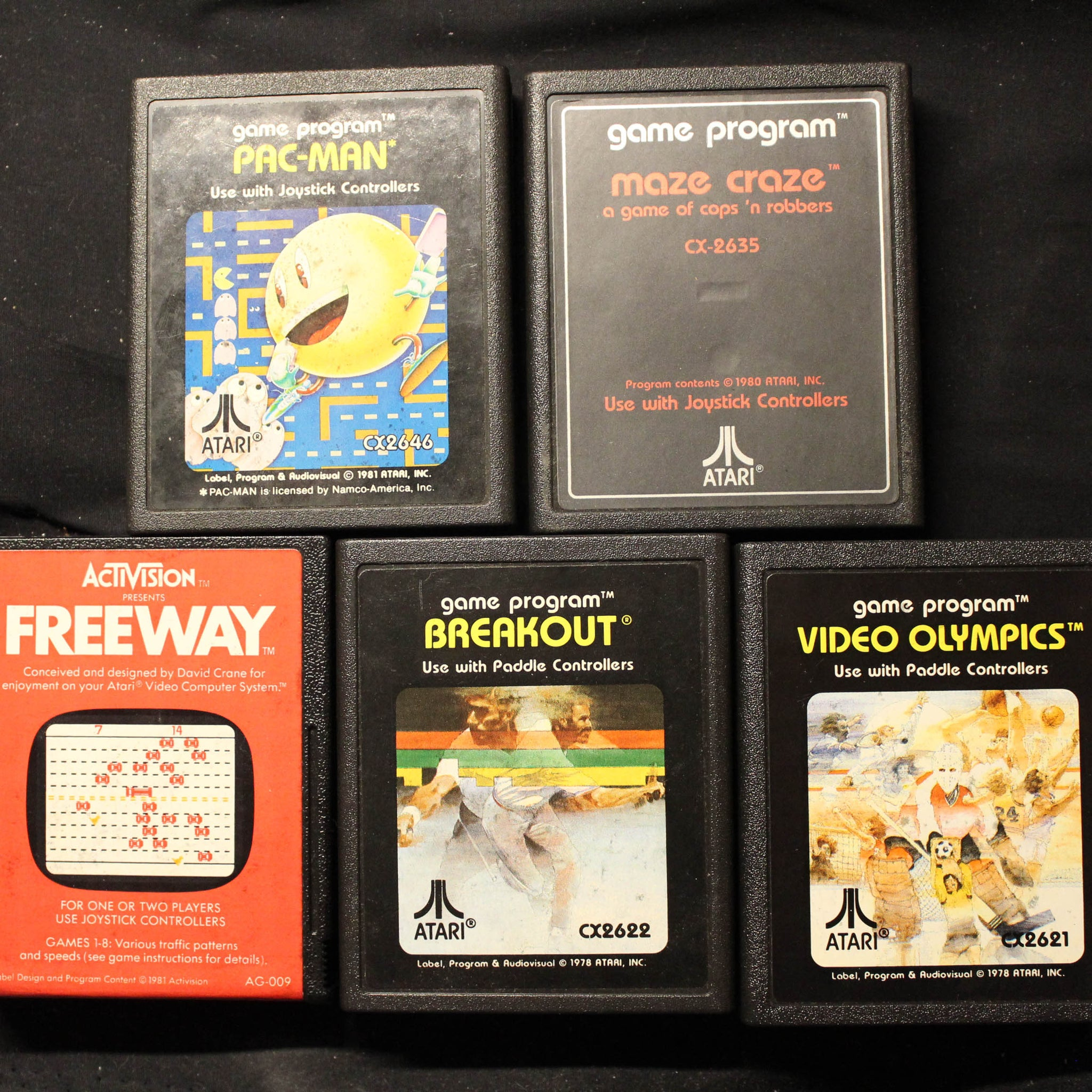 Atari Cartridges