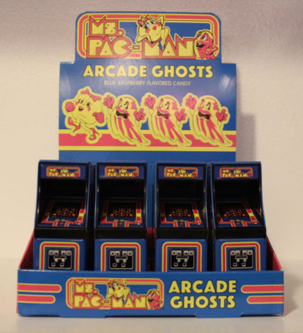 Pac-Man Arcade Machine Candy Tins