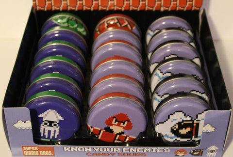 Super Mario Enemy Candy Tins
