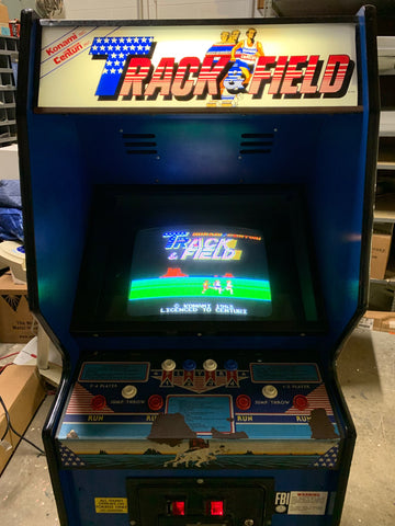 Track & Field Arcade Game