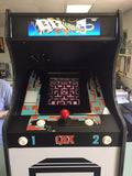 Miniature Taito Qix Arcade Machine w/ 60 Game Board